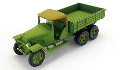 готовая модель грузовика ГАЗ-МММ (1941)