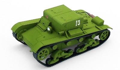 готовая модель танка Тягач Т-26Т
