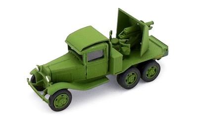 готовая модель грузовика СУ-12
