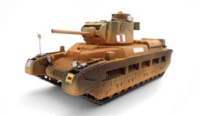готовая модель танка Matilda-II
