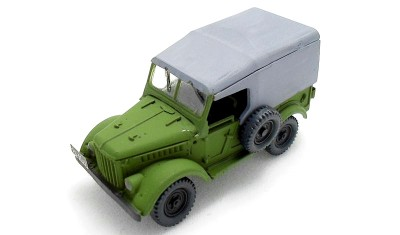 diecast car GAZ-69
