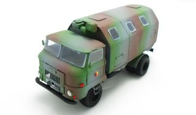готовая модель грузовика IFA L60 LAK II