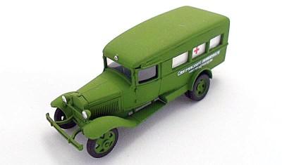 готовая модель грузовика ГАЗ-55 (1938)