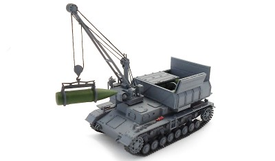 diecast tank Munitionsschlepper Pz.IV D/E