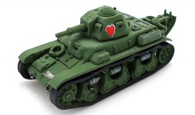 готовая модель танка Renault-39