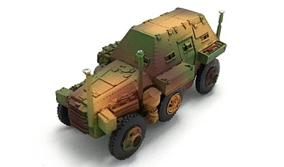 diecast military vehicle Berliet VUDB