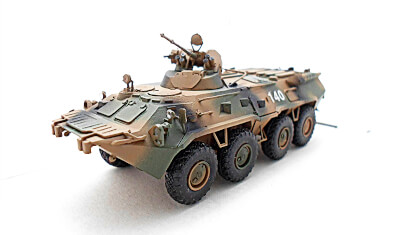 diecast military vehicle BTR-80A