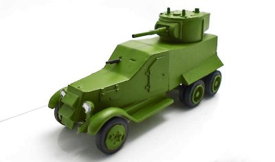 diecast military vehicle BA Ijorsky