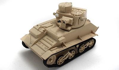 готовая модель танка Mk.VI B