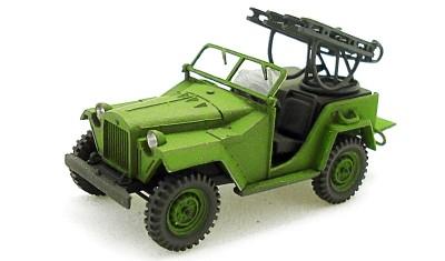 готовая модель автомобиля ГАЗ-67/М-8