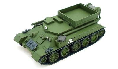 diecast tank T-34T