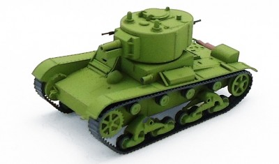 готовая модель танка Т-26-4