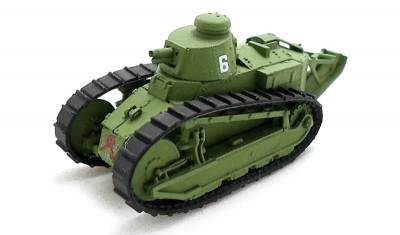 готовая модель танка FT-17 Turret Berliet