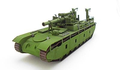 готовая модель танка СУ-14/203