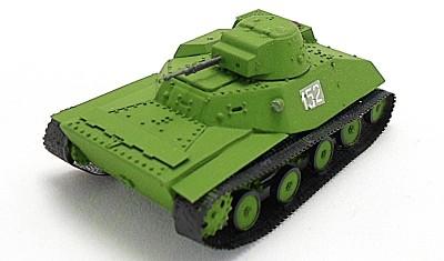 готовая модель танка Т-40