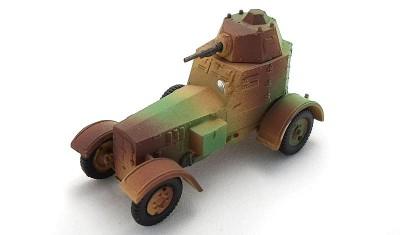 готовая модель бронеавтомобиля wz.34
