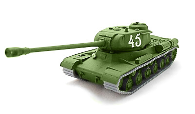 diecast tank IS-2