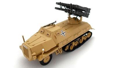 diecast military vehicle Sd.Kfz.4/1 (80mm)