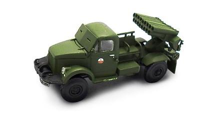 готовая модель грузовика РСЗО БМ-14-17