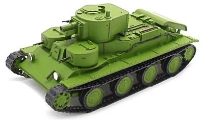 готовая модель танка T-29-5