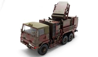 diecast truck Rocket equipment vehicle 2