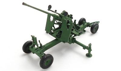 готовая модель пушки Bofors Mk.1/2