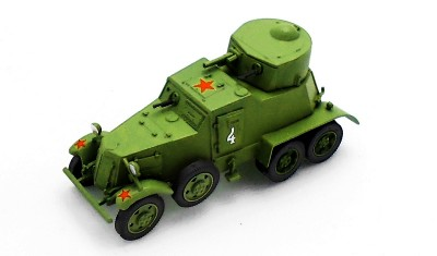 diecast military vehicle BA-I
