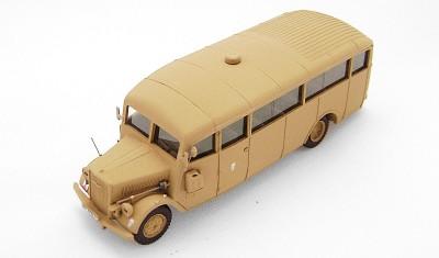 готовая модель автобуса Opel Blitz W39