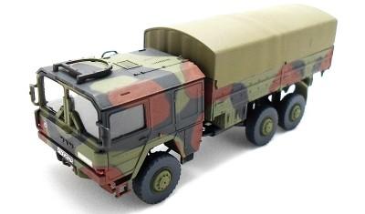 готовая модель грузовика MAN 7t 6x6 truck