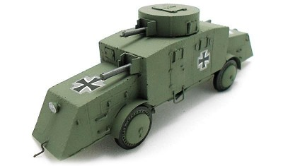 diecast military vehicle Bussing A5P