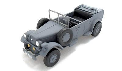 готовая модель автомобиля Skoda t. 952 Kubelwagen