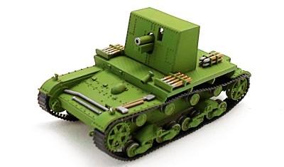 готовая модель танка T-26 Ленинград