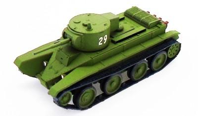 diecast tank BT-5 (cylinder turret)