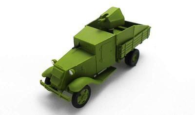 готовая модель грузовика ГАЗ-АА Ижорский