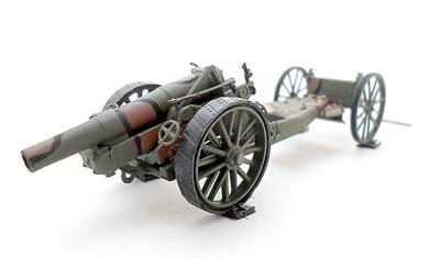 готовая модель пушки 8in Hovitzer MK.VI