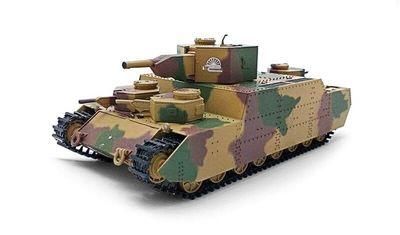 готовая модель танка O-I