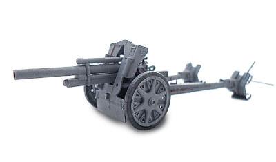 diecast gun 10.5cm leFH-18