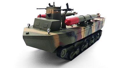 готовая модель танка Type-4 Ka-Tsu