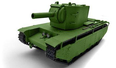 готовая модель танка Т-39