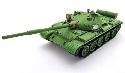 готовая модель танка Т-62 (1962)