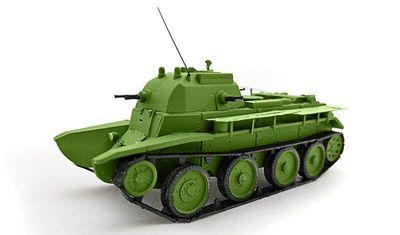 diecast tank KBT-7