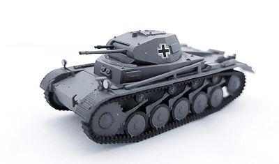 diecast tank Pz.Kpfw. II Ausf. A