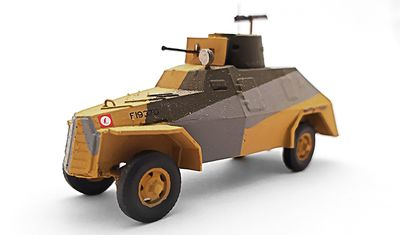 diecast car Marmon-Herrington Mk.II ME