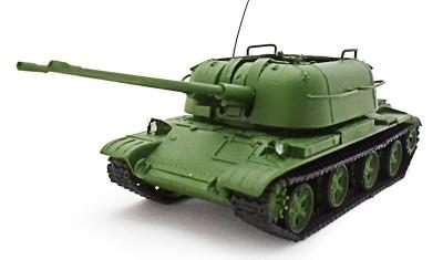 готовая модель танка ЗСУ-57-2