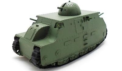 diecast tank FIAT 2000