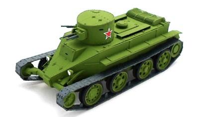 diecast tank BT-2 (machine-gun)