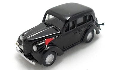 готовая модель автомобиля Opel Olympia 1938