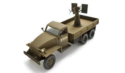 diecast truck Studebecker US6 / Oerlikon 20mm