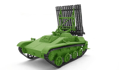 готовая модель БМ-8