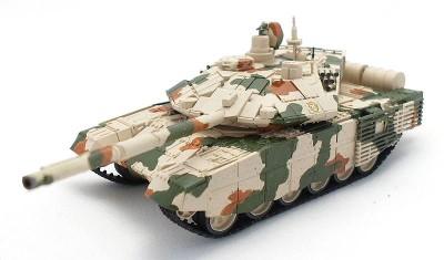 готовая модель танка T-90СМ